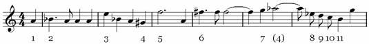 Пример 1. Хор «Сфинкс»