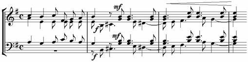 Пример 19. Хор «Из края в край»